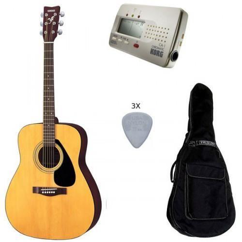 Pack yamaha f310 guitare acoustique accord pas for Housse guitare acoustique