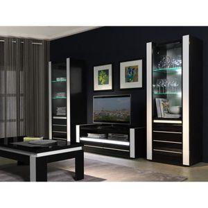 meuble effet miroir achat vente meuble effet miroir pas cher cdiscount. Black Bedroom Furniture Sets. Home Design Ideas