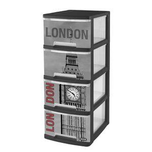Meuble de rangement achat vente meuble de rangement - Tour de rangement plastique 6 tiroirs ...