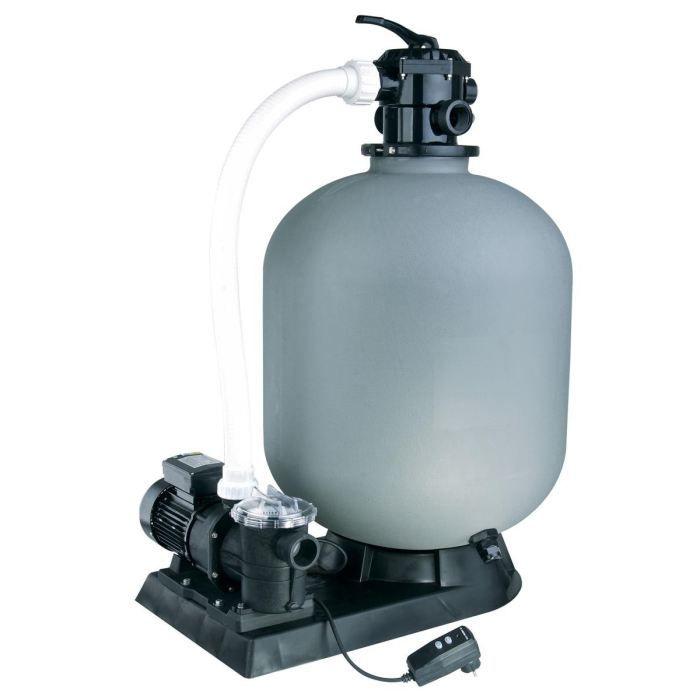 Kit de filtration sable pour piscine 14m3 h achat for Pompe piscine sable