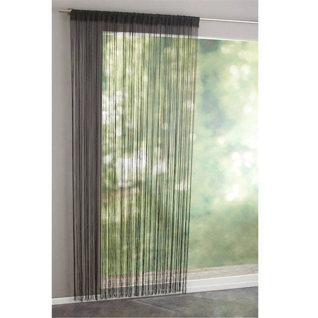rideaux a fils rideaux de porte 90 x 240 achat vente rideau de porte cdiscount. Black Bedroom Furniture Sets. Home Design Ideas