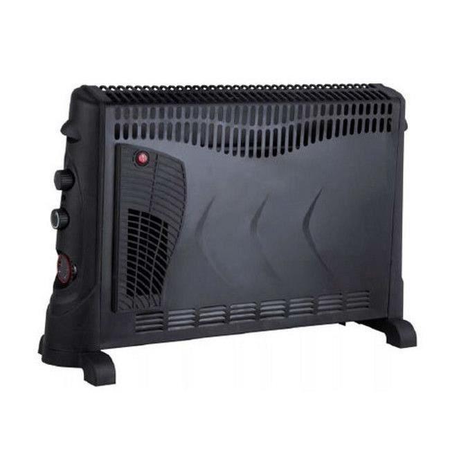 radiateur convecteur 2kw avec turbo et minuterie achat. Black Bedroom Furniture Sets. Home Design Ideas