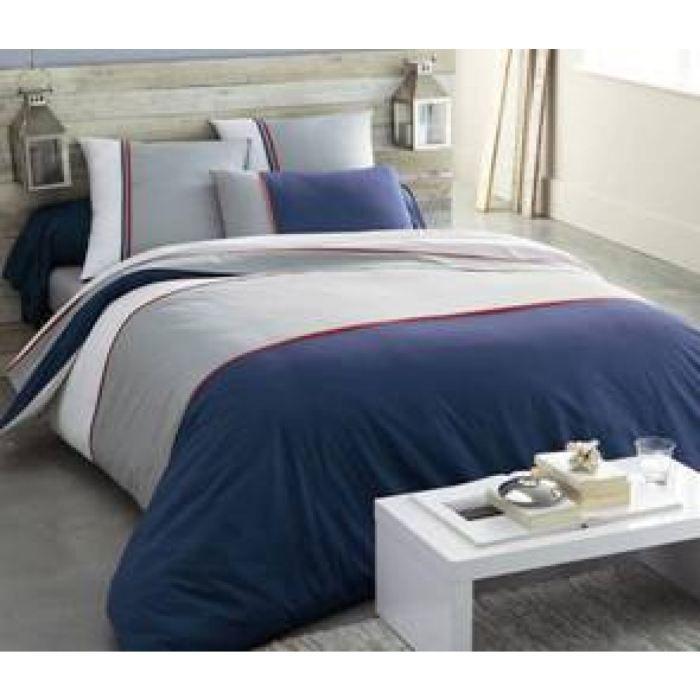 housse de couette greenwich hacot et colombier 220x240 achat vente hous. Black Bedroom Furniture Sets. Home Design Ideas