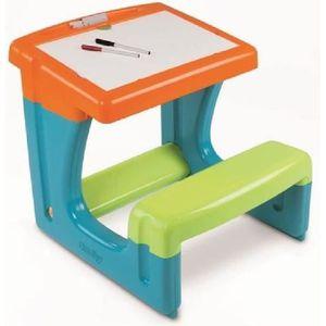 smoby bureau enfant petit ecolier bleu achat vente bureau b b enfant cdiscount. Black Bedroom Furniture Sets. Home Design Ideas