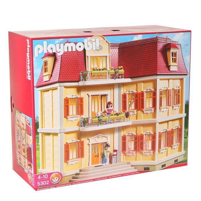 Destockage playmobil 5302 maison de ville univers for Playmobil maison moderne prix