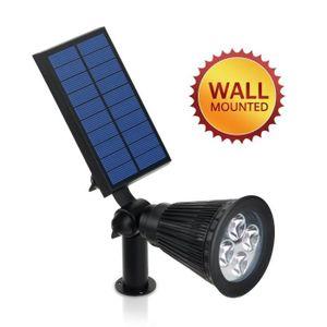 spot exterieur led solaire achat vente spot exterieur led solaire pas cher cdiscount. Black Bedroom Furniture Sets. Home Design Ideas