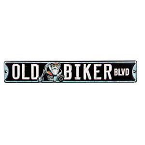 Deco plaques fer ou plaque emaillee  Plaque-publicitaire-old-biker-boulevard-pub-motard