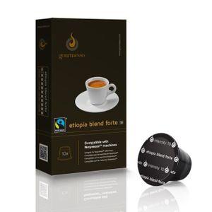 CAFÉ - CHICORÉE Etiopia Blend Forte - Capsules de café compatibles