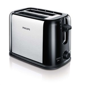 GRILLE-PAIN - TOASTER Toaster métal - PHILIPS HD2586/20 950W - 2 fentes