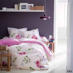 housse couette pour lit 160 achat vente housse couette pour lit 160 pas cher cdiscount. Black Bedroom Furniture Sets. Home Design Ideas