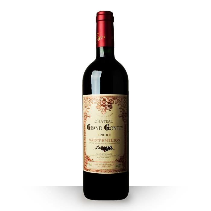 ch teau grand gontey 2010 rouge saint emilion achat vente vin rouge grand gontey 2010 rouge. Black Bedroom Furniture Sets. Home Design Ideas