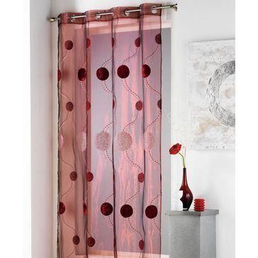 Voilages : Homemaison, toute une gamme de rideaux voilages prts