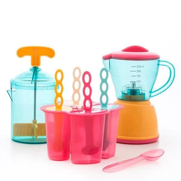 Jeu de glaces pour enfants 4 pi ces achat vente for Jeu de cuisine pour enfant