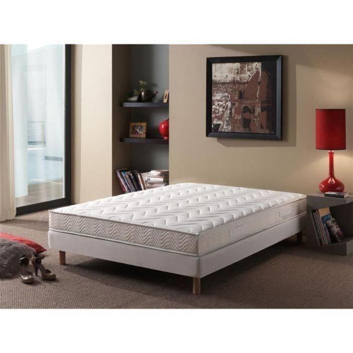 finlandek ensemble matelas sommier unelma 160x200cm. Black Bedroom Furniture Sets. Home Design Ideas