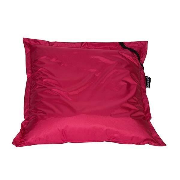 Coussin big bag rose fuchsia achat vente coussin d - Coussin exterieur impermeable ...
