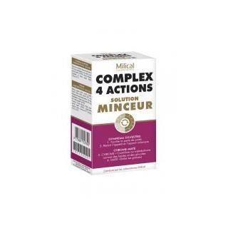Milical Complex 4 Actions Solution Minceur - Achat / Vente
