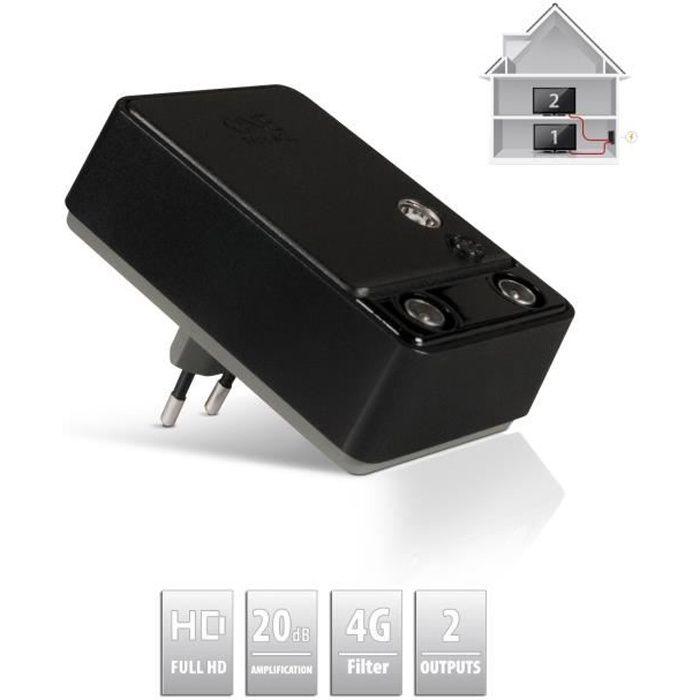 one for all sv 9620 amplificateur de signal 3g 4g. Black Bedroom Furniture Sets. Home Design Ideas