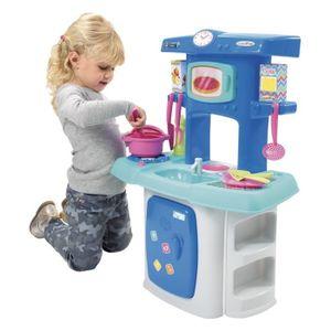 cuisine ecoiffier achat vente jeux et jouets pas chers. Black Bedroom Furniture Sets. Home Design Ideas