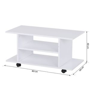 meuble tv roulettes achat vente meuble tv roulettes pas cher cdiscount. Black Bedroom Furniture Sets. Home Design Ideas