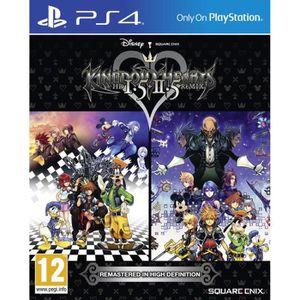 JEU PS4 NOUVEAUTÉ Kingdom Hearts HD 1,5 & 2,5 Remix Jeu PS4