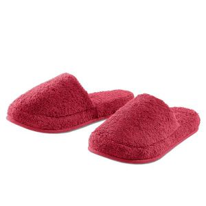 CHAUSSON - PANTOUFLE Mules Cosy Rouge 42-44