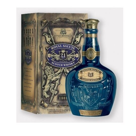 WHISKY BOURBON SCOTCH Chivas Regal Royal Salute 21 ans (70cl) 40°