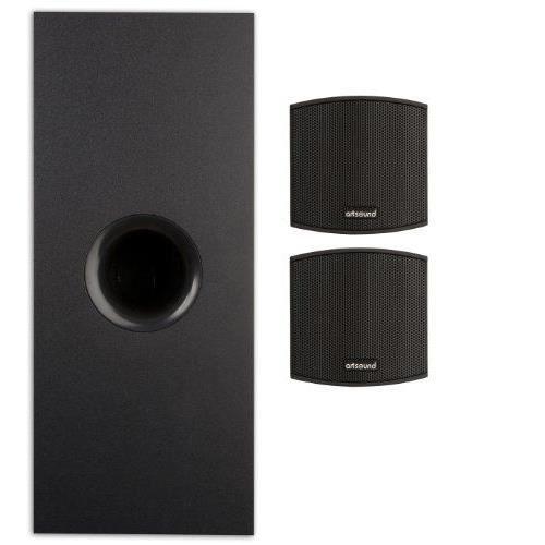 artsound tutto 2 1 kit enceinte triphonique ave achat. Black Bedroom Furniture Sets. Home Design Ideas