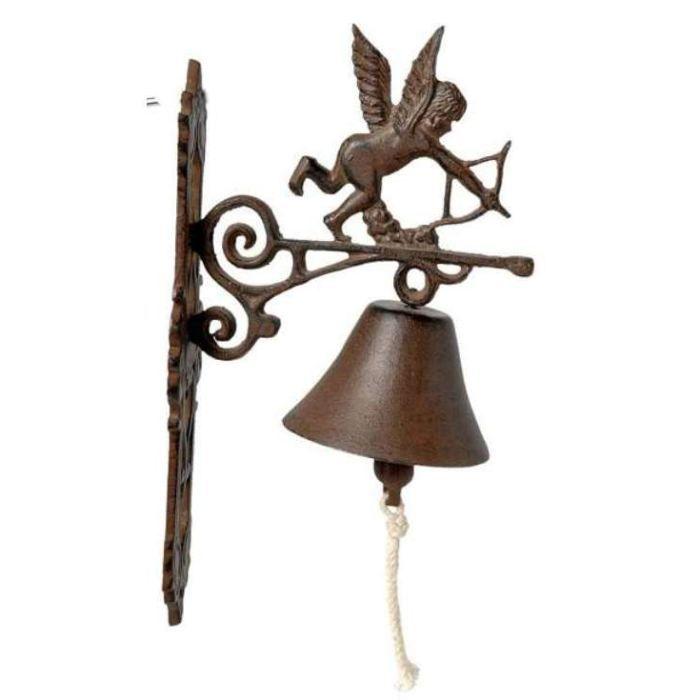 cloche de jardin ange en fonte 36 5x18x7cm achat vente cloche de jardin cloche de jardin. Black Bedroom Furniture Sets. Home Design Ideas