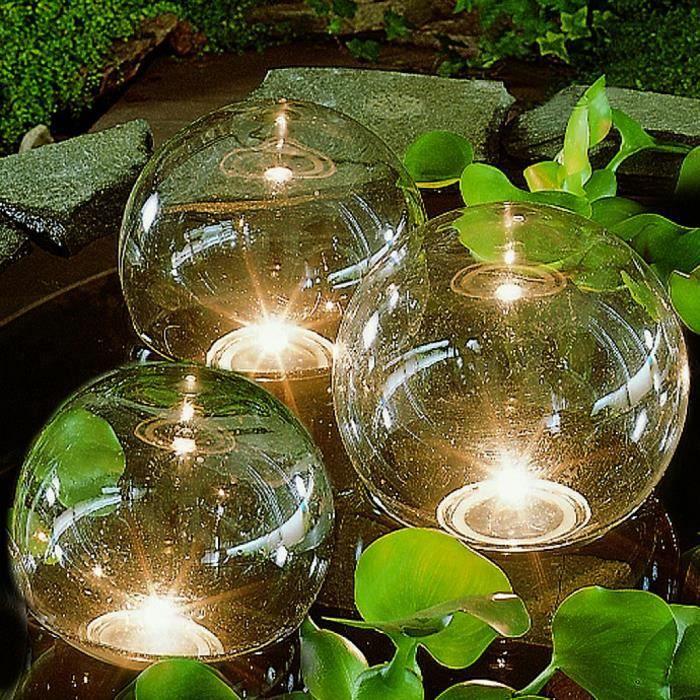 Ubbink eclairage pour bassin 3 lampes boules flottantes achat vente ubbink eclairage pour for Bassin de jardin d occasion