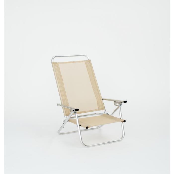 siege inclinable plage domani 915 1 pl fuschia achat vente chaise longue transat. Black Bedroom Furniture Sets. Home Design Ideas