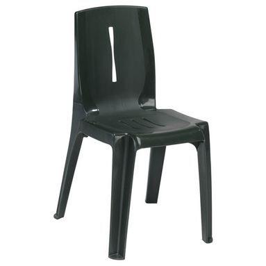 Lot de 8 chaises jardin salsa vert fonce achat vente for Lot chaise de jardin