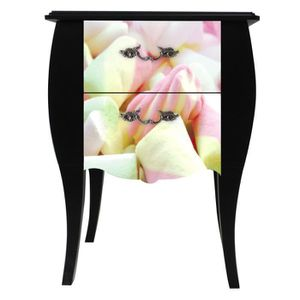table de chevet original achat vente table de chevet original pas cher cdiscount. Black Bedroom Furniture Sets. Home Design Ideas