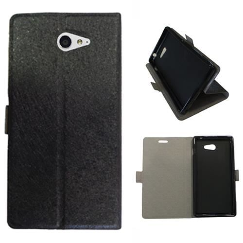 Housse cuir portefeuille sony xperia m2 voiture allemande for Housse cuir auto