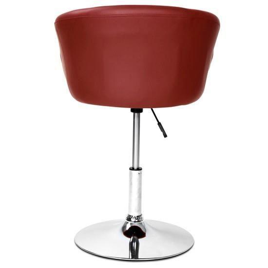 tabouret de bar avec dossier disponible en 10 coloris. Black Bedroom Furniture Sets. Home Design Ideas