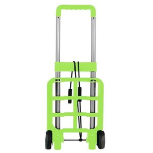 mini chariot pliable capacit 15 kg vert vert achat vente porte valise 0634041988623. Black Bedroom Furniture Sets. Home Design Ideas