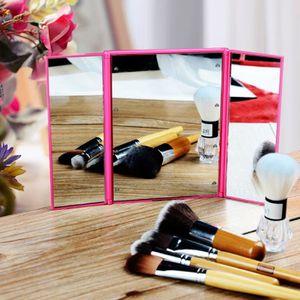 miroir pliant achat vente miroir pliant pas cher les soldes sur cdiscount cdiscount. Black Bedroom Furniture Sets. Home Design Ideas
