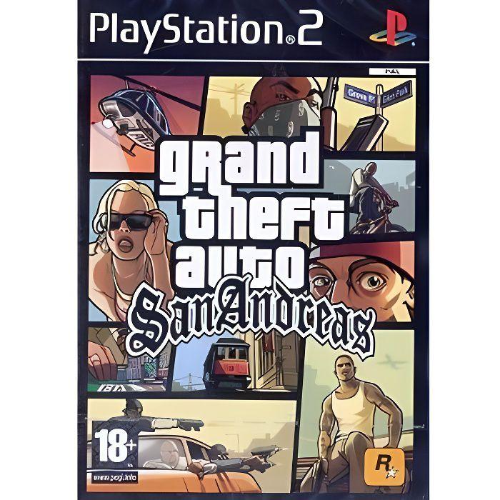JEU PS2 GTA SAN ANDREAS / jeu console PS2
