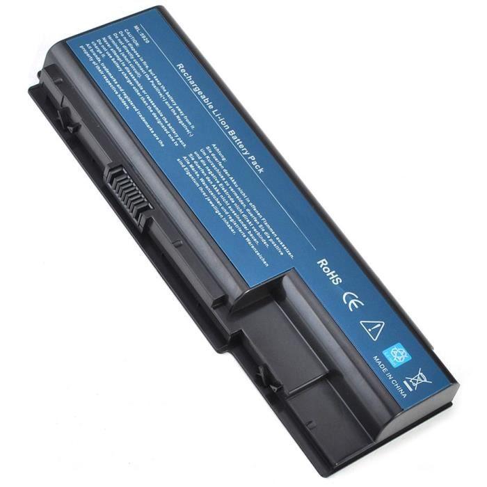 batterie pour acer packard bell easynote lj71 6600mah. Black Bedroom Furniture Sets. Home Design Ideas
