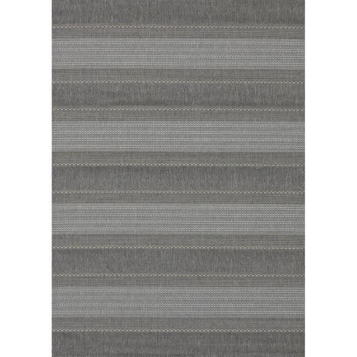 allotapis tapis pour terrasse et int rieur en polypropyl ne gris cusack 60x110cm gris. Black Bedroom Furniture Sets. Home Design Ideas