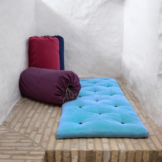 futon de voyage c leste achat vente futon cdiscount. Black Bedroom Furniture Sets. Home Design Ideas