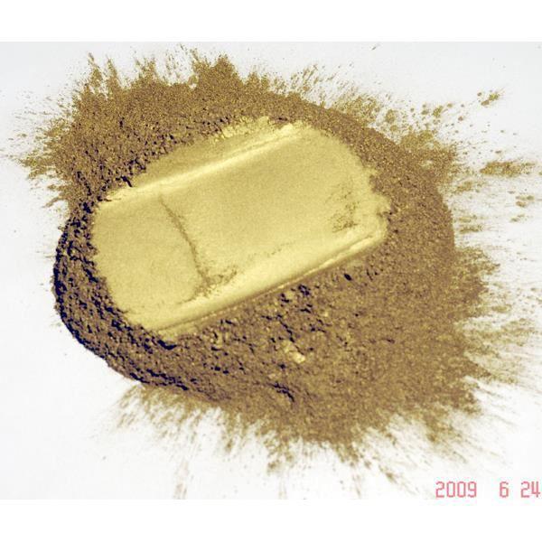 Pigment naturel pour peinture or pale riche pou achat vente peinture vernis cadeaux - Pigments naturels pour peinture ...