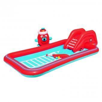 aire de jeux interactive voiture de pompier achat vente piscine gonflable aire de jeux. Black Bedroom Furniture Sets. Home Design Ideas