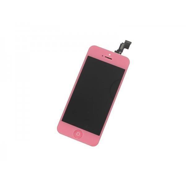 ecran lcd tactile iphone 5c rose achat ecran de. Black Bedroom Furniture Sets. Home Design Ideas