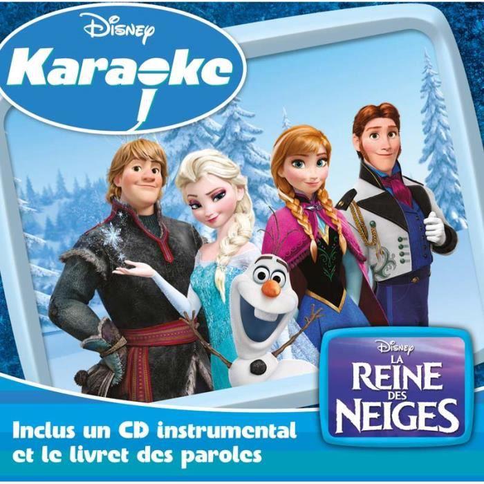 cd comptines enfants la reine des neiges karaok by enfants cd