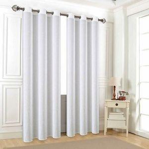 voilage en lin blanc achat vente voilage en lin blanc pas cher les soldes sur cdiscount. Black Bedroom Furniture Sets. Home Design Ideas