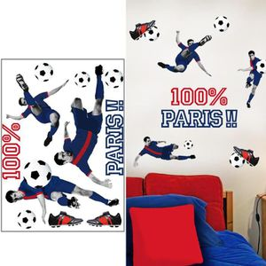 stickers foot achat vente stickers foot pas cher cdiscount. Black Bedroom Furniture Sets. Home Design Ideas