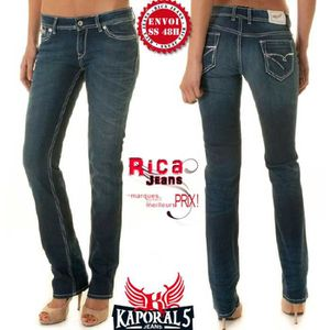 JEANS JEANS KAPORAL5 TAILLE 28US COUPE DROITE REGULAR MO