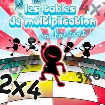 Les tables de multiplication compilation achat cd - Les table de multiplication en chanson ...