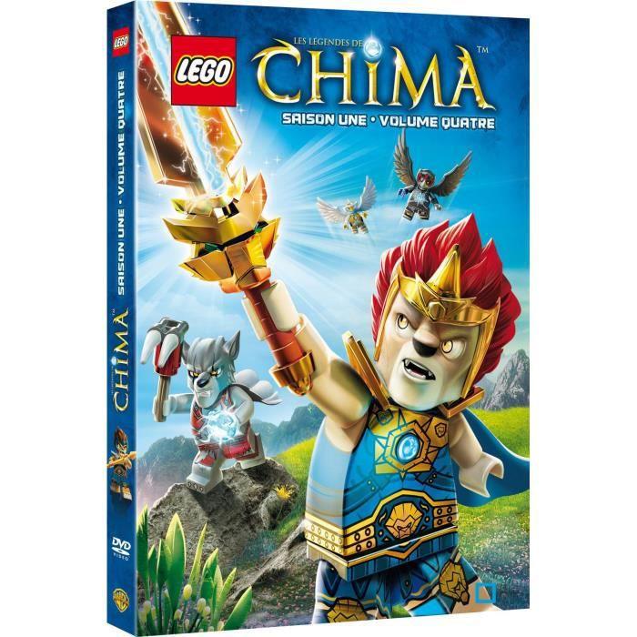 Dvd lego les l gendes de chima saison 1 volume 4 en - Lego chima saison 2 ...
