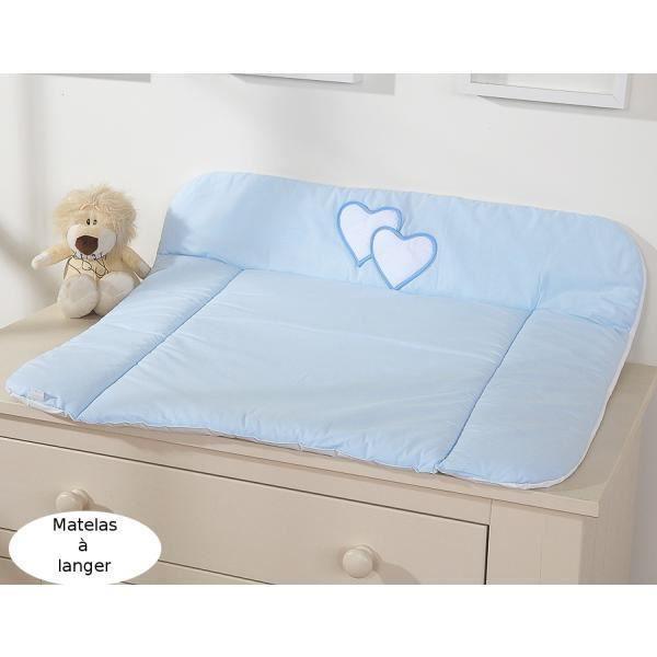 matelas langer en tissu grand format bleu c achat vente matelas langer 5908297426624. Black Bedroom Furniture Sets. Home Design Ideas